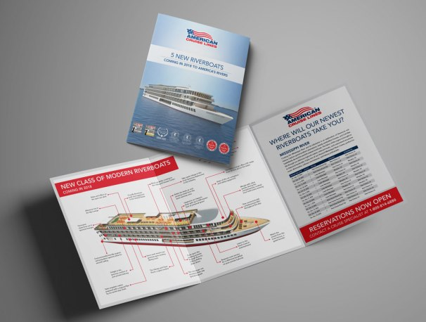 Modern Riverboat Trifold